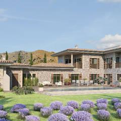 منزل ريفي تنفيذ Bien Estar Architecture,