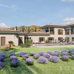 Casa unifamiliare in stile  di Bien Estar Architecture