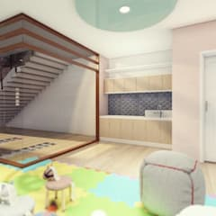 Proposed 5-Storey School Building:  Girls Bedroom by Structura Architects