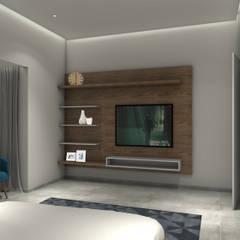 غرفة نوم تنفيذ VA design studio