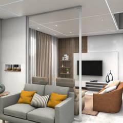 Living Room Interiors:  Living room by VA design studio
