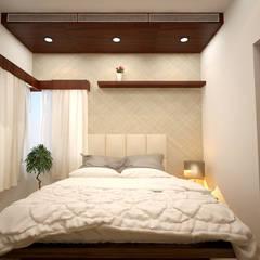 Dormitorios pequeños de estilo  por SPACE CULTURE