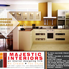 Kitchen units by MAJESTIC INTERIORS