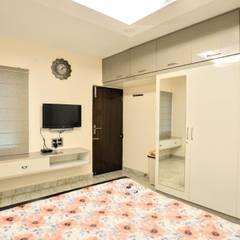 Dormitorios pequeños de estilo  por designhood