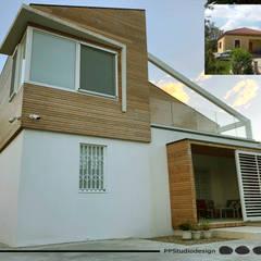 Projekty,  Dom z drewna zaprojektowane przez PPStudioDesign