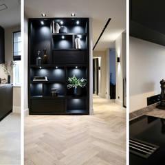 Amsterdams appartement op de Zuidas:  Keuken door NV INTERIORS