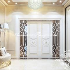 Puertas de estilo  por Дизайн-студия элитных интерьеров Анжелики Прудниковой
