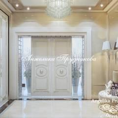 Дизайн дома в стиле арт-деко в усадьбе Морозовых: двери в . Автор – Дизайн-студия элитных интерьеров Анжелики Прудниковой,
