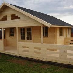 Domy letniskowe od Ogrodosfera Klasyczny Drewno O efekcie drewna