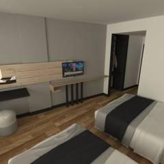 imadizayn – otel projesi:  tarz Küçük Yatak Odası