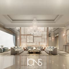 Mid Century Modern Living Room Design Ideas for 2019:  Living room by IONS DESIGN