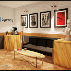 MİMLIFE-MİMAR AYÇA KUT – MY AGENCY OFİS:  tarz Ofisler ve Mağazalar