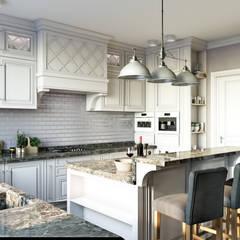 Дом в Лисьем Носу: Кухни в . Автор – Be In Art