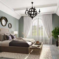 Дом в Лисьем Носу: Спальни в . Автор – Be In Art