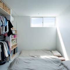 HOUSE-Y: N.A.Oが手掛けた寝室です。