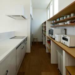 HOUSE-A: N.A.Oが手掛けたキッチンです。