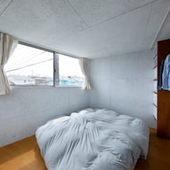 HOUSE-O: N.A.Oが手掛けた寝室です。
