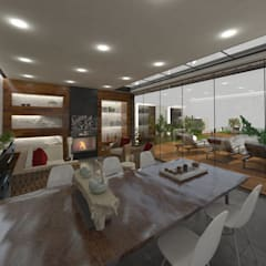 Mitta Mimarlık & İç Mimarlık – M.A Evi:  tarz Kış Bahçesi