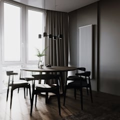 abode - Industrial :  Dining room by ACOR WORLD PVT LTD