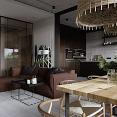 abode - Industrial 2:  Dining room by ACOR WORLD PVT LTD,Industrial