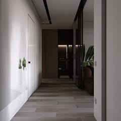 abode - Industrial 2:  Corridor & hallway by ACOR WORLD PVT LTD