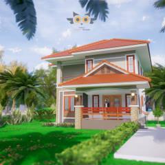 Multi-Family house by แบบบ้านออกแบบบ้านเชียงใหม่