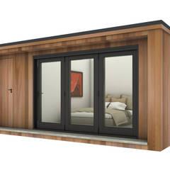 كوخ حديقة تنفيذ Modern garden rooms ltd