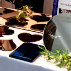 展示会に出展: 株式会社コダマガラスが手掛けた子供部屋です。