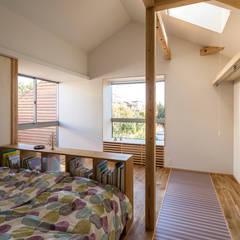 zubeneschamali: ポーラスターデザイン一級建築士事務所が手掛けた小さな寝室です。