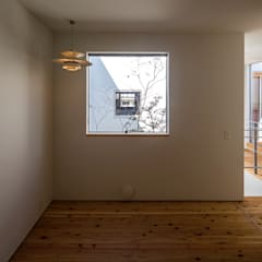 zubenelgenubi: ポーラスターデザイン一級建築士事務所が手掛けた小さな寝室です。