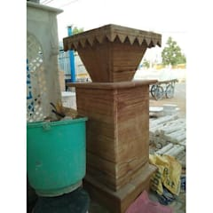 Marble Planter:  Front yard by Grp Marbles