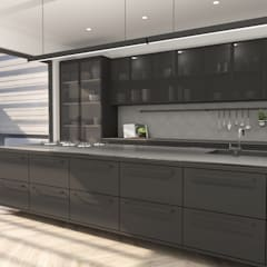 Kitchen Design :  Built-in kitchens by Lijn Ontwerp