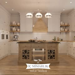 Kitchen units by Uğur RİCA İÇ MİMARLIK
