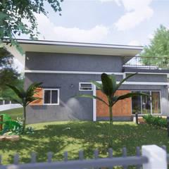 Habitações multifamiliares  por แบบบ้านออกแบบบ้านเชียงใหม่