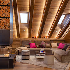 اتاق نشیمن by BEARprogetti - Architetto Enrico Bellotti