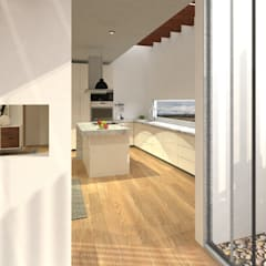 Built-in kitchens by PV Arquitectura