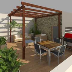 008: Terrazas de estilo  por PV Arquitectura