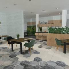 vista general: Bares y Clubs de estilo  de NSR Interior Design