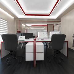 Oficinas IKOP: Estudios y oficinas de estilo  por Vozza Arquitectura