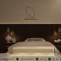 غرفة نوم - Bedroom :  غرف نوم صغيرة تنفيذ Amjad Alseaidan