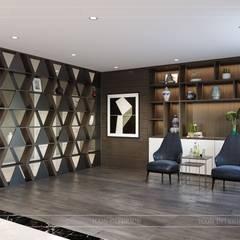 Thiết kế nội thất biệt thự hiện đại - Sang trọng đẳng cấp:  Phòng giải trí by ICON INTERIOR
