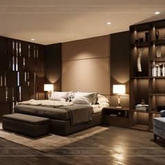 Thiết kế nội thất biệt thự hiện đại - Sang trọng đẳng cấp:  Phòng ngủ by ICON INTERIOR