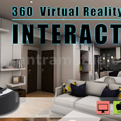 Interactive 360 Virtual Reality Tours Mobile App Developed by Yantram Virtual Reality Apps Development, New York - USA:  Bungalow by Yantram Architectural Design Studio, Modern Wood Wood effect