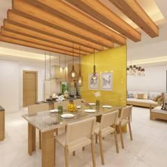 غرفة السفرة تنفيذ Designs Combine
