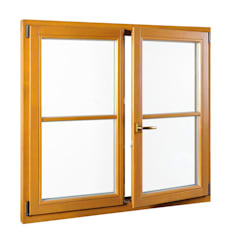 Windows by Fensterblick GmbH & Co. KG, Country Wood Wood effect