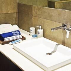 August Villa:  Bathroom by Fabindia