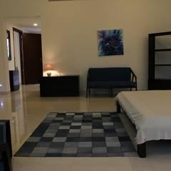 Villa ECR, Chennai:  Bedroom by Fabindia
