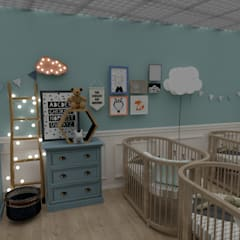 Baby room by Traço B Arquitetura