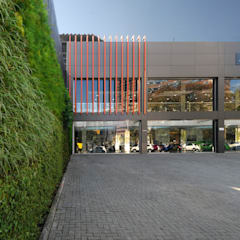 Car Dealerships by Vertical Garden - Jardim Vertical e Paisagismo Corporativo