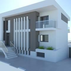 BOB: Villas de estilo  de ARQUITECTURA NATURAL, diseño Mediterráneo.